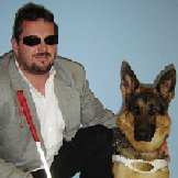 Dietmar Ogris mit Hund Hannah