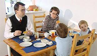Photo der Familie Martin und Gerda Ruppi-Lang