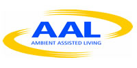 Logo von 'Ambient Assisted Living' (AAL) - Link zur Homepage